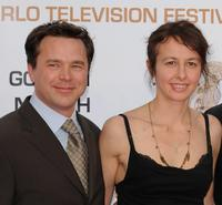 Valerie Bonneton and Guest at the closing ceremony of the 2009 Monte Carlo Television Festival.