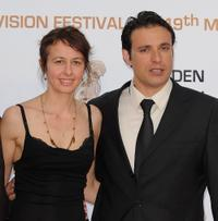 Valerie Bonneton and Bruno Salomone at the closing ceremony of the 2009 Monte Carlo Television Festival.