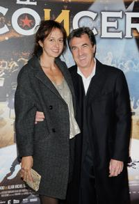 Valerie Bonneton and Francois Cluzet at the Paris premiere of