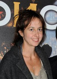 Valerie Bonneton at the Paris premiere of