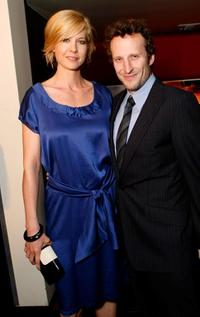 Jenna Elfman and Bodhi Elfman at the New York Rescue Workers Detoxification Project Charity Event.