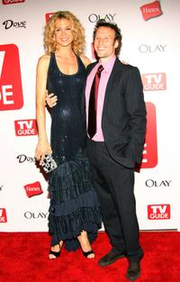 Jenna Elfman and Bodhi Elfman at the 4th Annual TV Guide after party celebrating Emmys 2006.