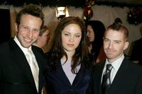 Bodhi Elfman, Erika Christensen and Seth Green at the Church of Scientology Annual Christmas Stories Benefit.