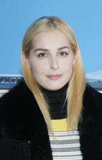 Amira Casar at the Chanel Paris Monte-Carlo Fashion Show.