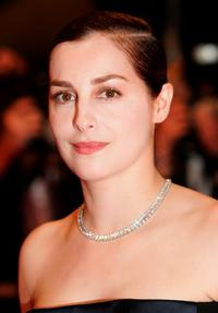 Amira Casar at the premiere of