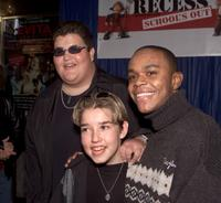Jason Davis, Courtland Mead and Rickey D'Shon Collins at the after party of the premiere of