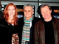 Sibylle Canonica, Henry Huebchen and director Michael Klier at the premiere of