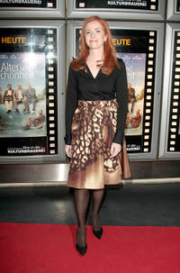 Sibylle Canonica at the premiere of