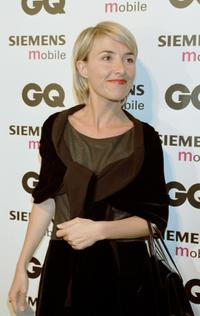 Cayetana Guillen Cuervo at the Spring/Summer 2001 GQ fashion show party.