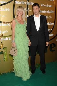 Cayetana Guillen Cuervo and her husband at the 5th Marie Claire Magazine Awards.