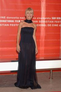 Cayetana Guillen Cuervo at the opening Ceremony of 54th San Sebastian Film Festival.