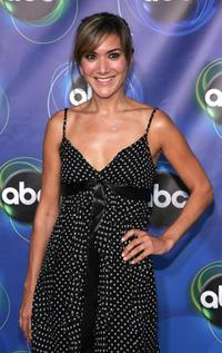 Nadia Dajani at the ABC TCA party.