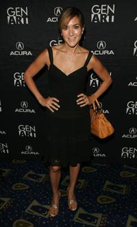 Nadia Dajani at the premiere of