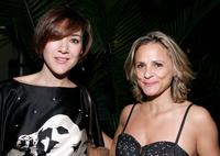 Nadia Dajani and Amy Sedaris at the after party of the Season Three New York premiere of