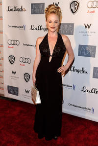 Dana Daurey at the red carpet of Geffen Playhouse's Annual Backstage in California.