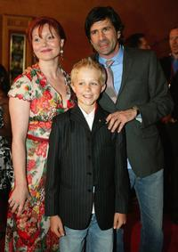 Essie Davis, Louis Corbett and Gary Winick at the world premiere of
