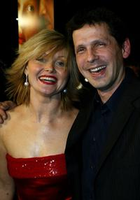 Essie Davis and Peter Webber at the premiere of