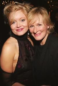 Essie Davis and Glenn Close at the opening of