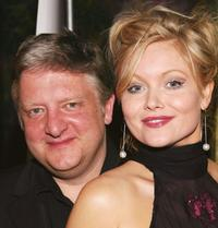 Simon Russell Beale and Essie Davis at the opening of