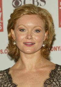 Essie Davis at the 2004 Tony Awards Nominees Press Reception.