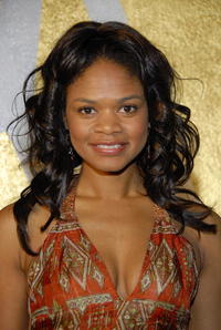 Kimberly Elise at the opening of the Napoleon Perdis Hollywood Flagship Store and Makeup Academy in L.A.
