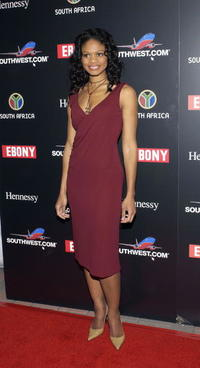 Kimberly Elise at the 2nd Annual EBONY Oscar Celebration in Hollywood.