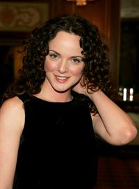 Melissa Errico at the Drama League's salute to Betty Comden and Adolph Green.