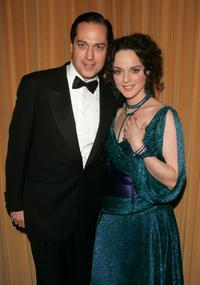 Tom Hewitt and Melissa Errico at the after party of the opening of