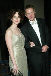 Melissa Errico and Patrick McEnroe at the 2003 Tony Awards Dinner and After party.