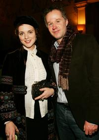 Melissa Errico and Patrick McEnroe at the after party of the premiere of