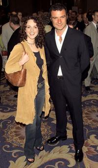 Melissa Errico and Liev Schreiber at the 69th Annual Drama League Awards Luncheon.