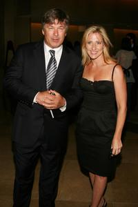 Edie Falco and Alec Baldwin at the 23rd Annual Television Critics Association Awards.