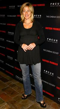 Edie Falco at the screening of