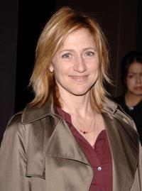 Edie Falco at the special screening of