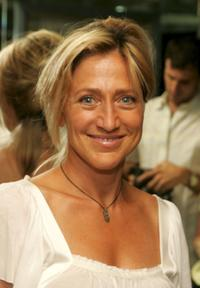 Edie Falco at the after party for the special screening of