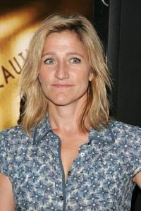 Edie Falco at the premiere of