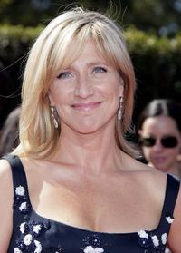Edie Falco at the 59th Annual Primetime Emmy Awards.
