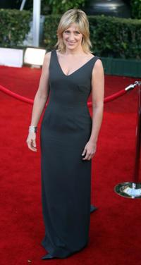 Edie Falco at the red carpet for the 14th Screen Actors Guild Awards.
