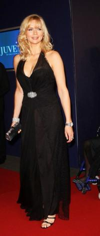 Veronica Ferres at the Annual Bambi Awards 2007.