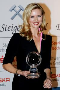Veronica Ferres at the Steiger Awards ceremony.