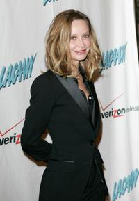 Calista Flockhart at the LACAAW Humanitarian Awards.