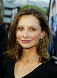 Calista Flockhart at the premiere of