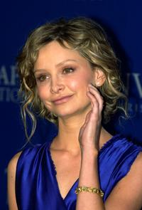Calista Flockhart at the Fall 2004 Lanvin Fashion Show Benefit.