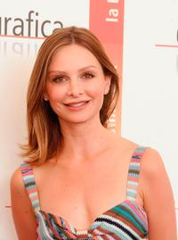 Calista Flockhart at the 62nd Venice Film Festival.