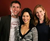 Paul Fitzgerald, Susan Floyd and Kate Jennings at the 2006 AFI FEST.