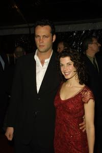 Vince Vaughn and Susan Floyd at the premiere of