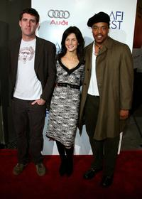 Paul Fitzgerald, Susan Floyd and Russell Hornsby at the tribute to Penelope Cruz screening of