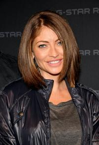 Rebecca Gayheart at the G Star Fall 2008 fashion show during the Mercedes-Benz Fashion Week.