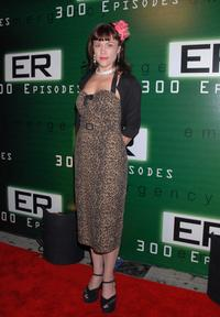 Christine Elise at the celebration of the 300th episode of