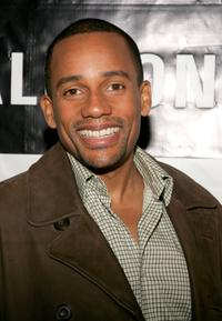 Hill Harper at the Reel Lounge gala benefit for the Creative Coalition.